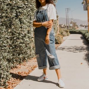 Oversized overalls